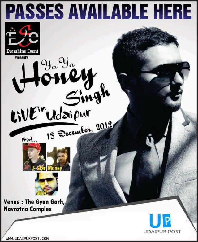 UdaipurPost Yo Yo Honey Singh Giveaway