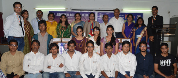 Installation Ceremony of Rotarct Club Aishwarya & Interact Club
