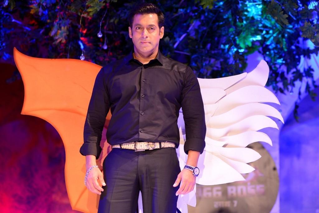 Salman at the launch og Bigg Boss 7